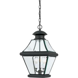 Rutledge - 3 Light Outdoor Hanging Lantern - 19.5 Inches high