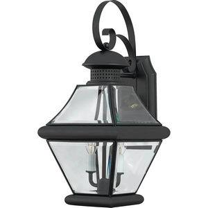 Rutledge 19 Inch Outdoor Wall Lantern Transitional Brass