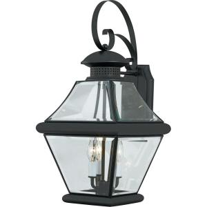Rutledge 24 Inch Outdoor Wall Lantern Transitional Brass