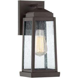 Ravenel 12.5 Inch Outdoor Wall Lantern Transitional Steel Approved for Wet Locations