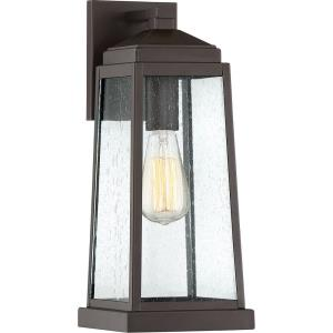 Ravenel 15.75 Inch Outdoor Wall Lantern Transitional Steel Approved for Wet Locations