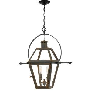 Rue De Royal - 2 Light Outdoor Hanging Lantern