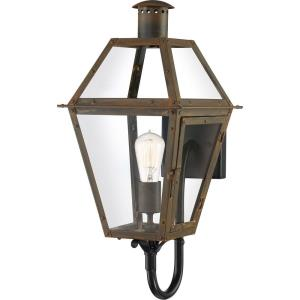 Rue De Royal 20.5 Inch Outdoor Wall Lantern Traditional Brass/Steel Approved for Wet Locations