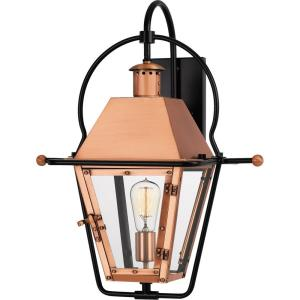 Rue De Royal 22.5 Inch Outdoor Wall Lantern Traditional Brass/Steel Approved for Wet Locations