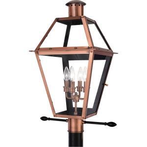 Rue De Royal - 4 Light Post Lantern