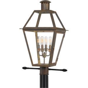 Rue De Royal - 4 Light Outdoor Post Lantern