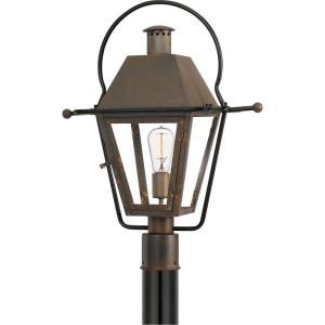 Rue De Royal - 1 Light Outdoor Post Lantern - 22.75 Inches high