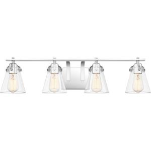 Sabine 4 Light Transitional Bath Vanity - 7.5 Inches high