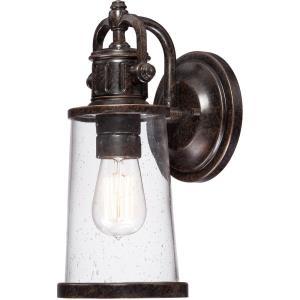 Steadman 12.5 Inch Small Outdoor Wall Lantern Transitional Aluminum