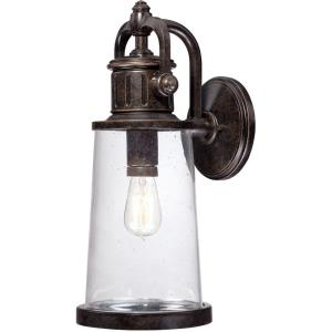 Steadman 19.25 Inch Large Outdoor Wall Lantern Transitional Aluminum - 19.25 Inches high