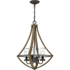 Shire - 4 Light Pendant in Transitional style - 18.25 Inches wide by 24 Inches high