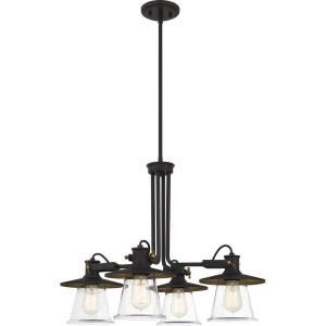 Sumter - 4 Light Chandelier in Transitional style - 26 Inches wide by 20.25 Inches high