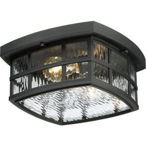 Stonington - 2 Light Outdoor Flush Mount - 5.75 Inches high