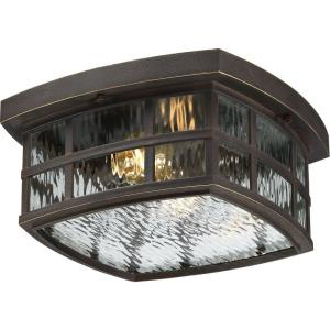Stonington - Two Light Outdoor Flush Mount