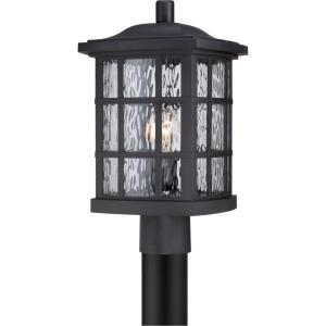 Stonington - 1 Light Outdoor Post Lantern - 16.5 Inches high