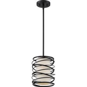 Spiral - 1 Light Small Mini Pendant