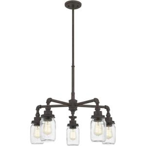 Squire - 5 Light Chandelier in Transitional style - 26 Inches wide by 23 Inches high