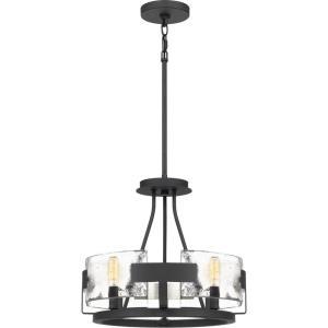 Stratum - 4 Light Semi-Flush Mount - 14 Inches high