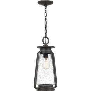 Sutton - 1 Light Outdoor Hanging Lantern - 17.25 Inches high