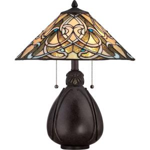 "Tiffany - 19.5"" Two Light Table Lamp"