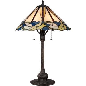 """Tiffany - 26.5"""" Two Light Table Lamp"""