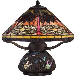 Tiffany - 16.5 Inch 2 Light Table Lamp