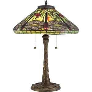 Jungle Dragonfly - 2 Light Small Portable Table Lamp