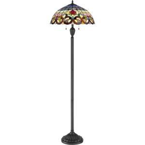 Tiffany - Two Light Floor Lamp