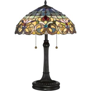 Tiffany - 2 Light Table Lamp