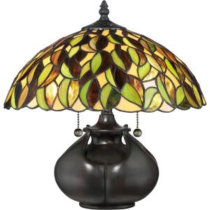 Tiffany - 14.17 Inch 2 Light Table Lamp
