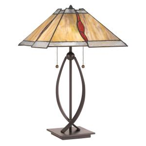 Tiffany - 23.75 Inch 2 Light Table Lamp