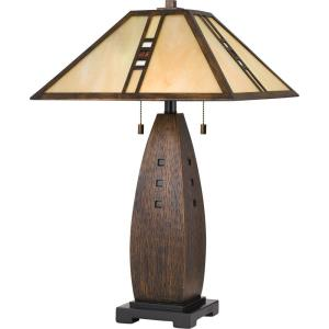 Tiffany - 26.5 Inch 2 Light Table Lamp