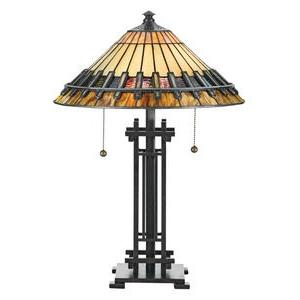 Tiffany - Two Light Table Lamp