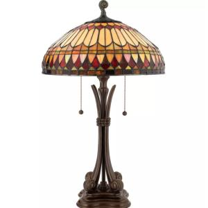 West End - 2 Light Table Lamp