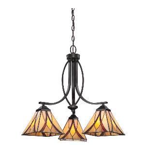 Asheville - Three Light Large Pendant