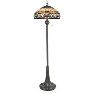 Belle Fleur - 3 Light Floor Lamp