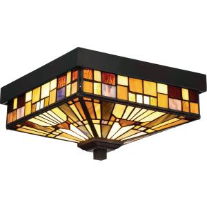 Inglenook - 2 Light Outdoor Medium Flush Mount