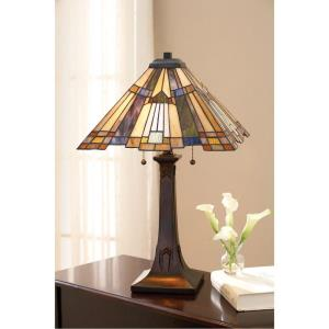 Inglenook - 2 Light Table Lamp - 25 Inches high