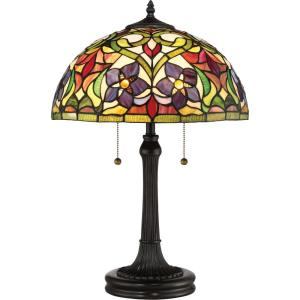 Violets - 2 Light Table Lamp