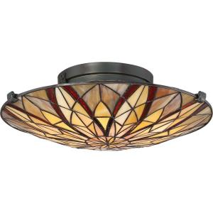 Victory - 2 Light Medium Semi-Flush Mount