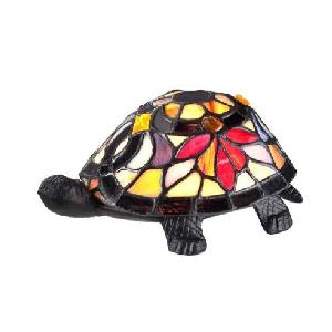 Flower Turtle - 1 Light Desk Lamp