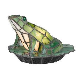 Green Frog - 1 Light Desk Lamp