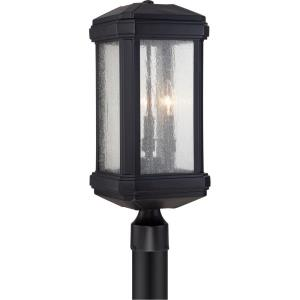 Trumbull - 3 Light Outdoor Post Lantern - 21.5 Inches high
