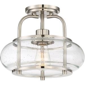 Trilogy - 1 Light Small Semi-Flush Mount