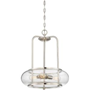 Trilogy - 3 Light Large Pendant - 20 Inches high