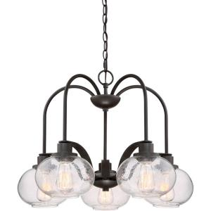 Trilogy Chandelier 5 Light - 19 Inches high
