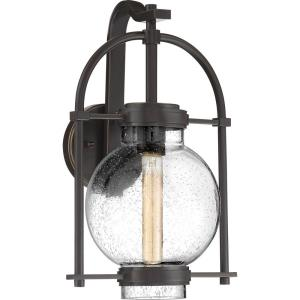 Traveler 16.5 Inch Outdoor Wall Lantern Transitional Steel/Glass Approved for Wet Locations