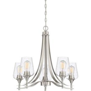 Towne Chandelier 5 Light Steel - 23 Inches high