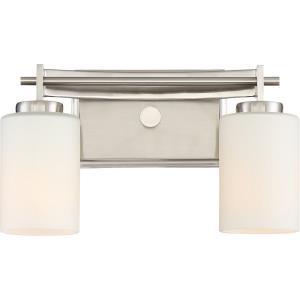 Taylor 2 Light Transitional Medium Bath Vanity - 7.5 Inches high