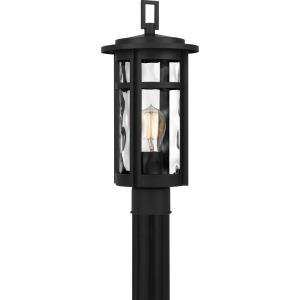 Uma - 1 Light Outdoor Post Lantern - 17.25 Inches high